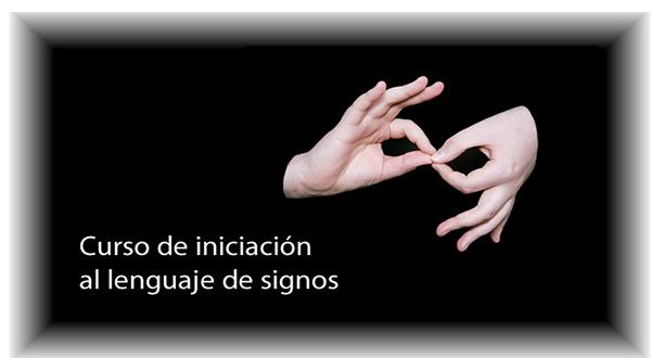 curso de lenguaje signos española