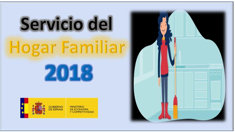servicio del hogar familiar 2018