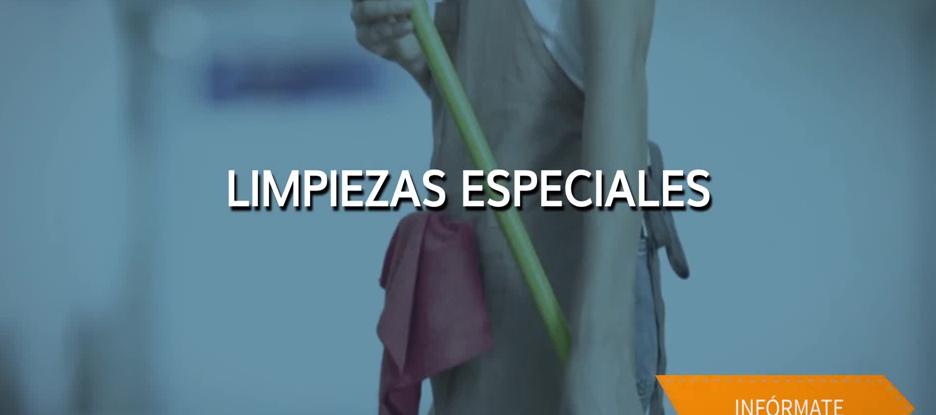 Limpiezas especiales