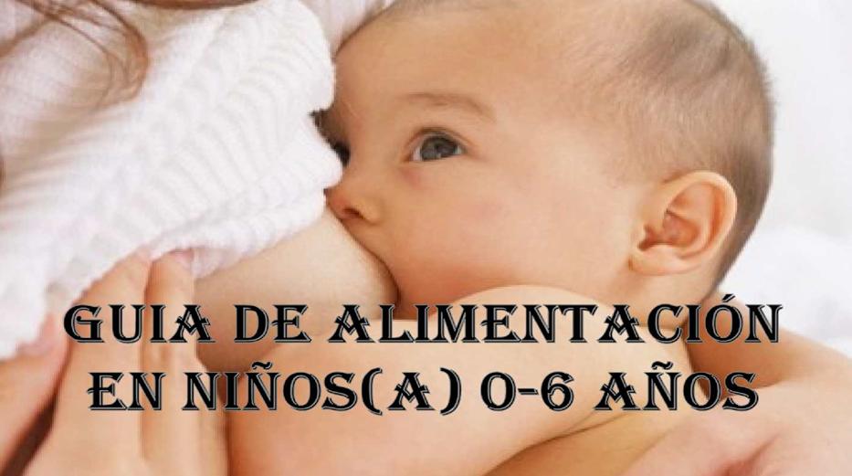 ALIMENTACIÓN MATERNO INFANTIL