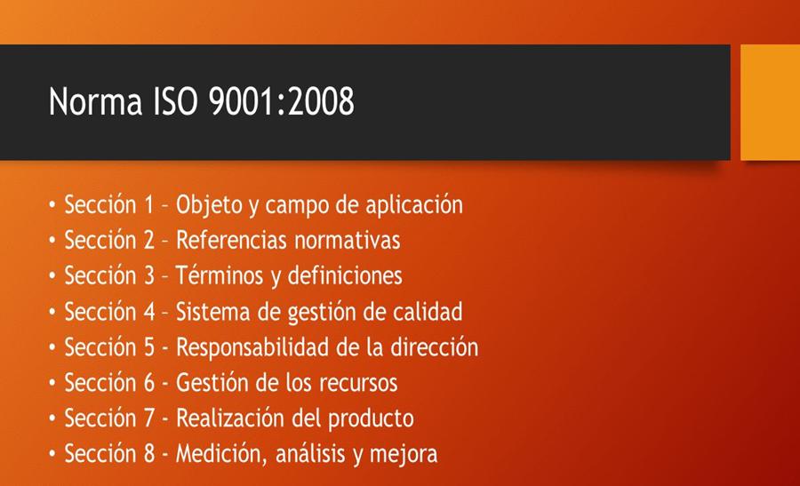 Gestion de calidad 2008