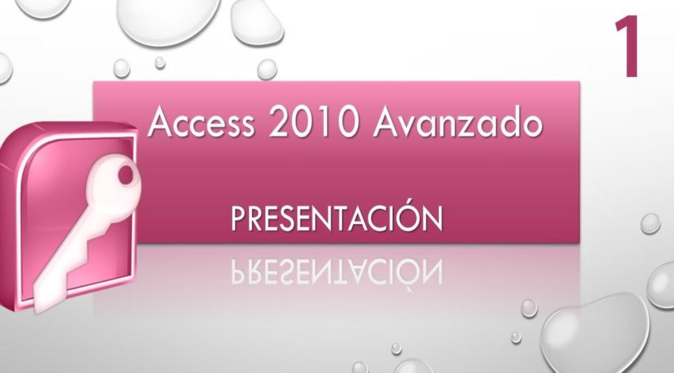 Bases de datos access nivel avanzado