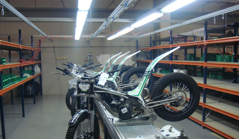 Diseño e industrializacion de produccion de motocicletas