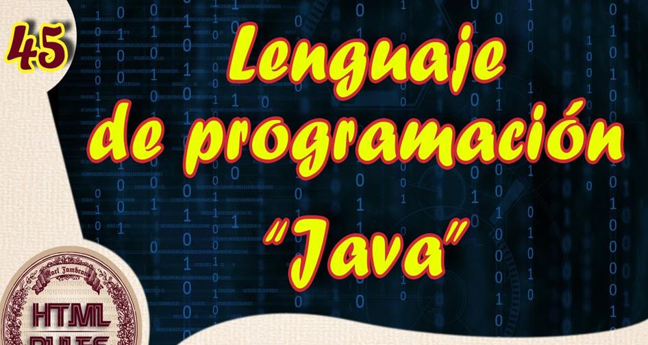 Lenguaje de programacion JAVA Basico