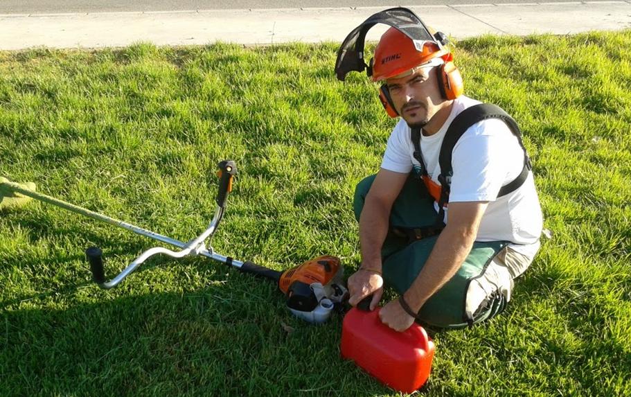 Proteccion equipos de jardineria