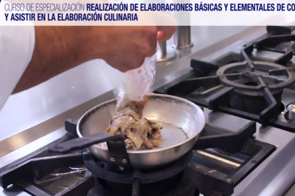 Elementales de Cocina y Asistir en la Elaboración Culinaria