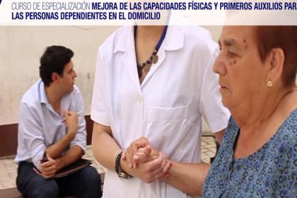 Primeros Auxilios para Cuidadores de Personas Dependientes